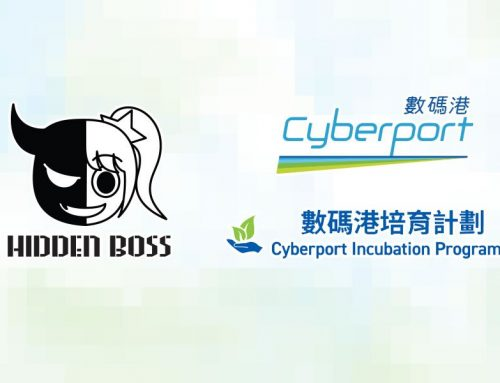 Hidden Boss has become an incubatee of Cyberport Incubation Programme